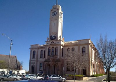 Stawell Town Hall Clock